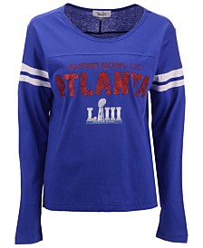 Touch by Alyssa Milano Women's Super Bowl LIII Reflex Raglan T-Shirt