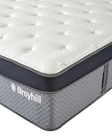 "Broyhill 12"" King Norwich Cooling Gel Memory Foam Hybrid Innerspring Medium Firm Plush Mattress"