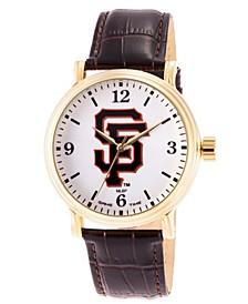 Gametime MLB San Francisco Giants Men's Shiny Gold Vintage Alloy Watch