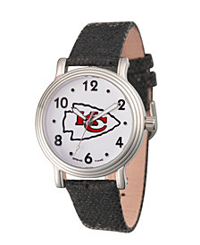 Gametime NFL Kansas City Chiefs Women's Silver Vintage Alloy Watch