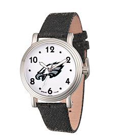 Gametime NFL Philadelphia Eagles Women's Silver Vintage Alloy Watch