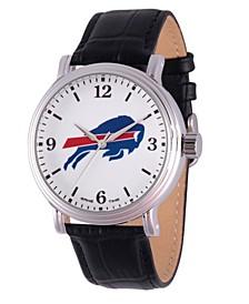 Gametime NFL Buffalo Bills Men's Shiny Silver Vintage Alloy Watch