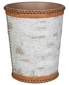 Hautman Brothers White Birch Wastebasket