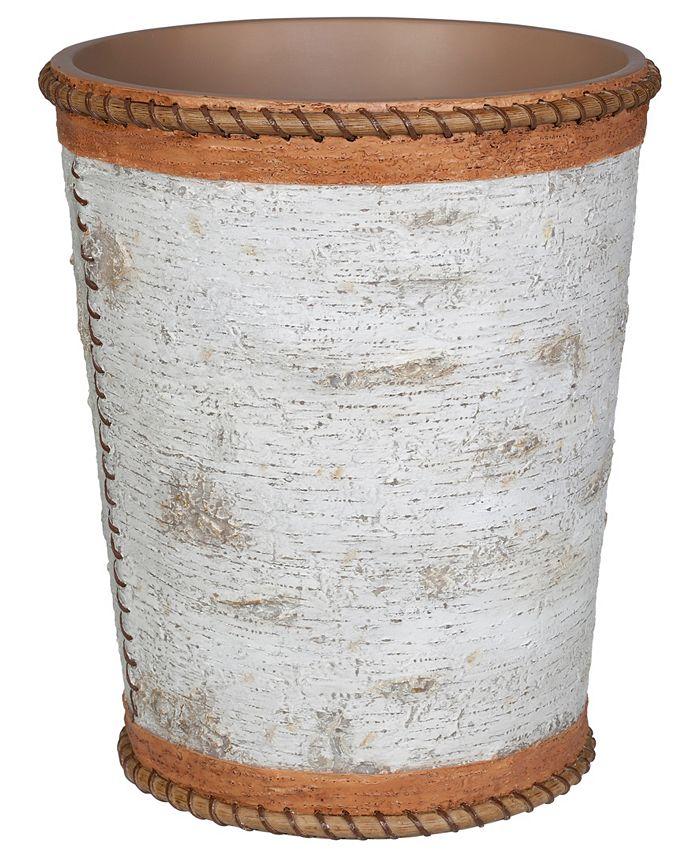 Creative Bath - Hautman Brothers White Birch Wastebasket