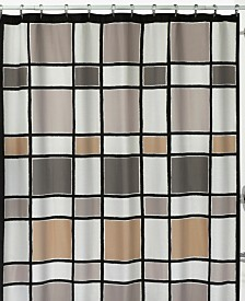 Creative Bath Color Blocks Shower Curtain