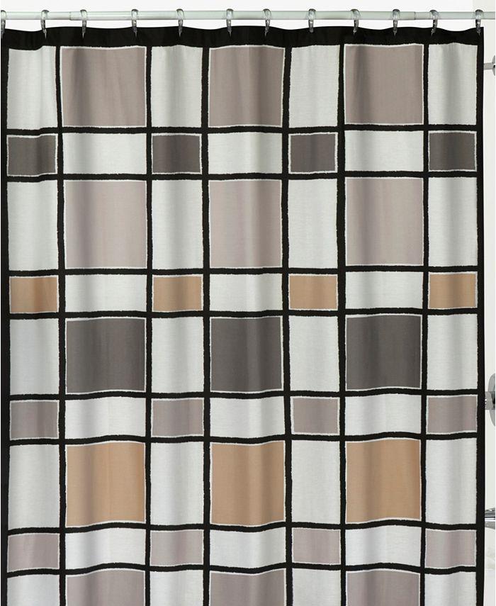 Creative Bath - Color Blocks Shower Curtain