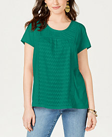 Style & Co Petite Top, Created for Macy's