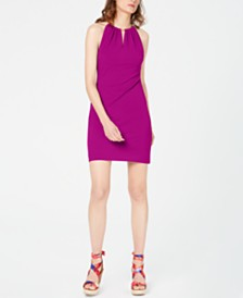I.N.C. Halter-Neck Bodycon Dress, Created for Macy's