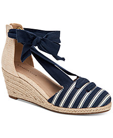 Charter Club Maritzaa Wedge Sandals, Created for Macy's