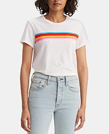 Levi's® Perfect Rainbow-Stripe T-Shirt