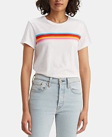 Levi's® Perfect Rainbow-Stripe T-Shirt