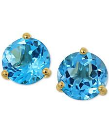Amethyst (2-1/4 ct. t.w.) Stud Earrings in 14k Gold