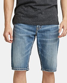 "Silver Jeans Co. Men's Gordie Loose Denim 13"" Shorts"