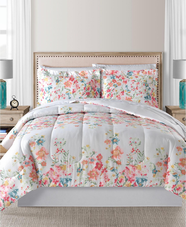 Macy's今日特价! 8件套床上用品只要$37.99!