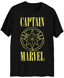 Captain Marvel Men's Graphic T-Shirt