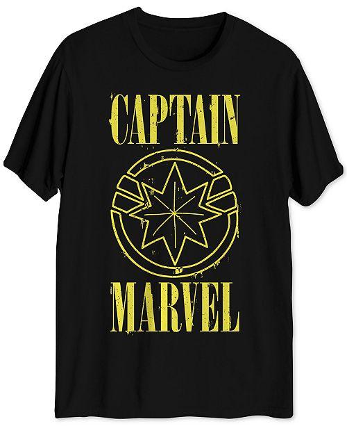 Hybrid Captain Marvel Men's Graphic T-Shirt