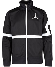Jordan Big Boys Jumpman Diamond Track Jacket