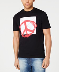 Sean John Men's Peace Graphic T-Shirt