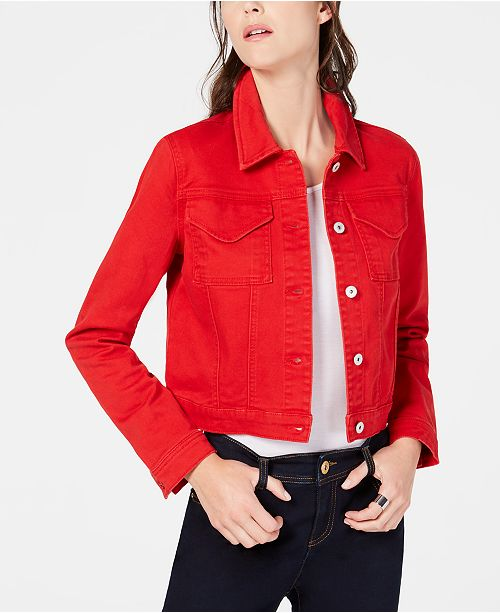 INC International Concepts I.N.C. Utility Jean Jacket, Created for Macy's