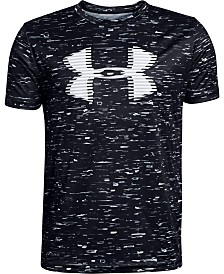 Under Armour Big Boys Printed Logo-Print T-Shirt