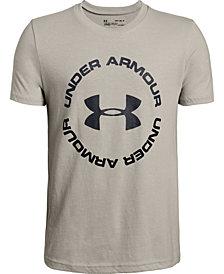 Under Armour Big Boys Sportstyle Logo-Print T-Shirt