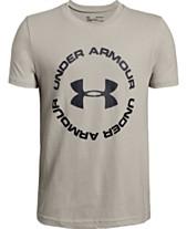 52d3847e Under Armour Big Boys Sportstyle Logo-Print T-Shirt