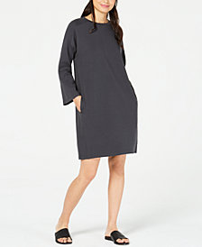 Eileen Fisher Pocketed Dress, Regular & Petite