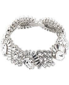 Jenny Packham Crystal Art Deco Flex Bracelet