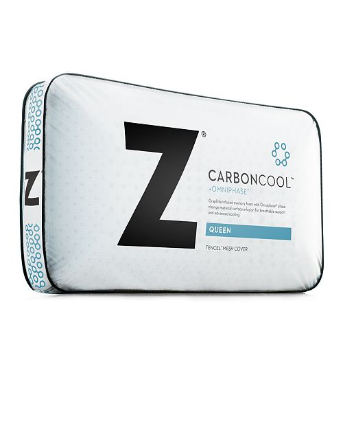 Malouf Z Carbon Cool Pillow Plush Queen Amp Reviews