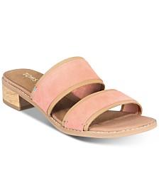 TOMS Women's Mariposa Slip-On City Sandals