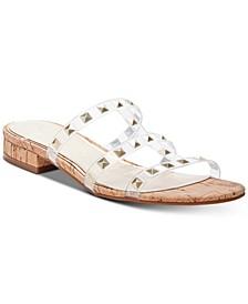 Caira 2 Flat Studded Sandals