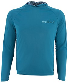 Gillz Men's Charter Series Moisture-Wicking UV Hoodie