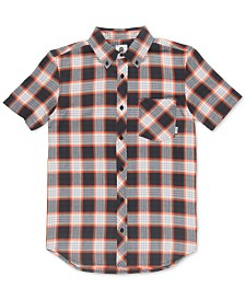 Element Men's Gradient Woven Plaid Shirt