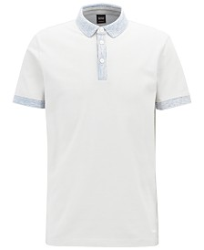 BOSS Men's Relaxed Fit Cotton Polo