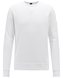 BOSS Men's Relaxed Fit Cotton Sweatshirt