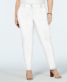 Plus Size Miranda Straight-Leg Pants