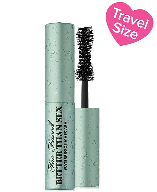 Too Faced Better Than Sex Waterproof Mascara, Travel Size