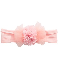 On the Verge Little & Big Girls Organza Flower Headwrap