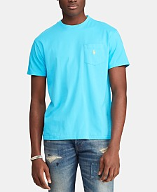 Polo Ralph Lauren Men's Big & Tall Classic Fit  Pocket T-Shirt