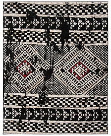 Safavieh Adirondack Black and Light Gray 9' x 12' Area Rug
