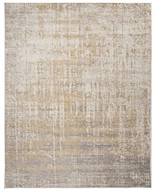 Adirondack Creme and Gold 9' x 12' Area Rug
