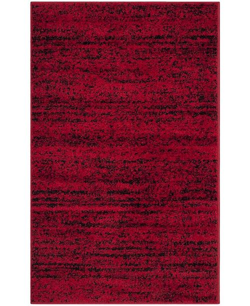 Safavieh Adirondack Red and Black 3' x 5' Area Rug
