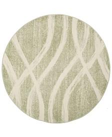 Safavieh Adirondack Sage and Cream 4' x 4' Round Area Rug