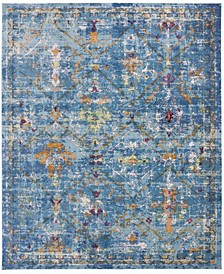 Aria Blue and Multi 9' x 12' Area Rug