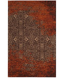 Safavieh Classic Vintage Rust and Brown 4' x 6' Area Rug