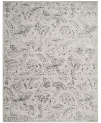Carnegie Silver and Gray 9' x 12' Area Rug
