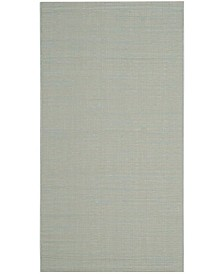 "Safavieh Courtyard Aqua and Cream 2' x 3'7"" Sisal Weave Area Rug"