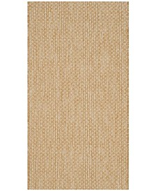"""Safavieh Courtyard Natural and Cream 2'7"""" x 5' Area Rug"""