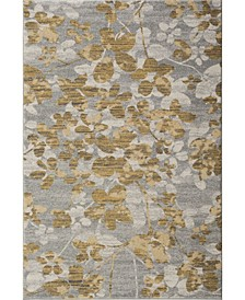 Evoke Gray and Gold 10' x 14' Area Rug