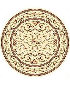 Lyndhurst Ivory 10' x 10' Round Area Rug